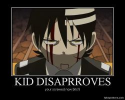 Kid disaprroves by IloveDTK