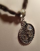 Tear of life- moonstone necklace by Destinyfall