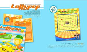 lollypop children magazine by novisurjadi