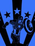 Captain America by Bya-Bya