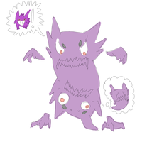 2 Haunters Pretending 2 Be A Gengar by InvaderMouse