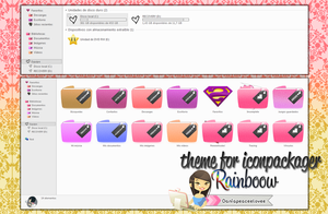 Theme For iconpackager by DaniaPeaceeLovee
