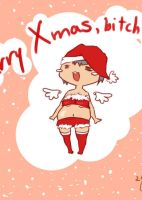 Merry Xmas :3 by kiddou