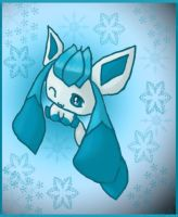 Shiny Glaceon by Chaomaster1