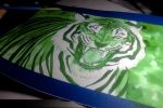 .green tiger wip. by CheshireSmile
