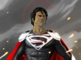 Superman: Medieval by Mleeg-Art
