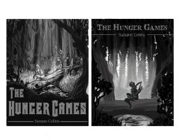 Hunger Games cover layouts by ShesscaMayWiver