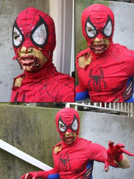 Zombie Spider-Man by Jeison-ree