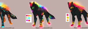 Glowing Wolf Adopts Batch - CLOSED by TheFireGypsy