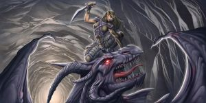 Dragon Slayer Commission by StriderDen