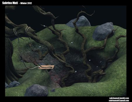 3D Environment for my character by senx28