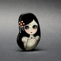 Doll Brooch - Good Girl by 1anina