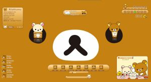 Rilakkuma for xWidget by kenneth117