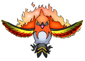 Fletchinder's Flame Charge! by realarpmbq