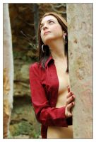 Kathryn - red shirt 3 by wildplaces