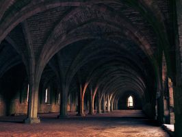 Fountains Abbey by iyonix