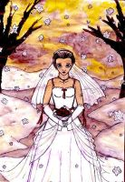 Louisa's cold wedding by Meowen