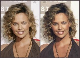 Charlize Theron 2 by ArtSlash13