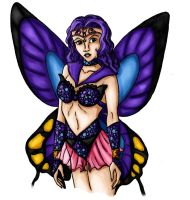 Papillon Colored by Galaxia