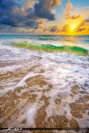 HDR-Beach-Sunrise-Singer-Island-Florida by CaptainKimo