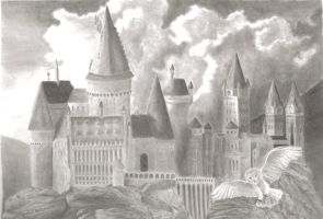 hogwarts by emilie-draw