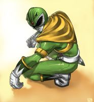 green ranger by david-grier by SuperSentaiFans