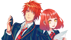 Hayato and Otoya by xjennypenny