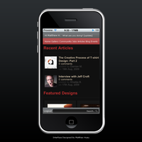 Designers Couch iPhone App by Proxone