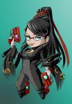 Chibi Bayonetta by glance-reviver