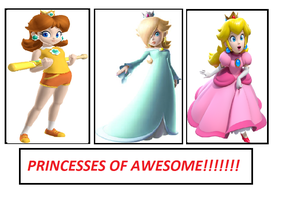Princesses of Awesome!!!!! by AngelMaria89