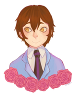 ouran host club - haruhi by CasuallyObserving