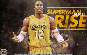 Dwight Howard Lakers Wallpaper by Angelmaker666