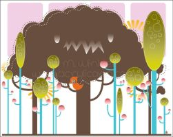 Happiness Tree by marywinkler