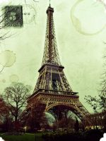 Carte Postale de Paris by HananeMOUJAHID