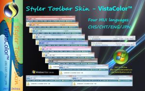 VistaColor CHS CHT ENG JPN by ZXChina