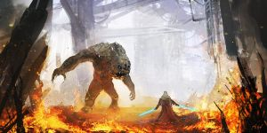 Bad Rancor by MacRebisz