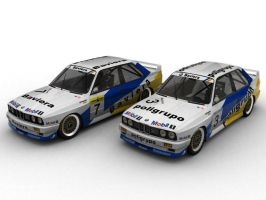 BMW M3 Touring Car Legends by AlexVentura