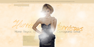 Header Dianna Agron - Portfolio by DarkVisuals