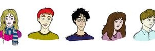 HP. the gang by morlockiness