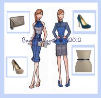 Project Runway Challenge 5 by Jsaren