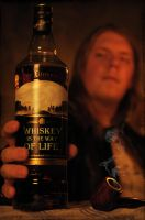 Whiskey is the way of life by JesperOscarsson