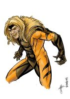 Sabretooth by Supajoe by Silverskullguy