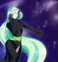 Music is in the air by Albablue
