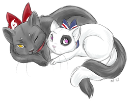 HongIce Kitties by neon-possum