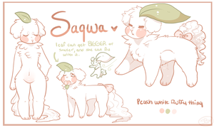 Sagwa Reference sheet by Sno-berry