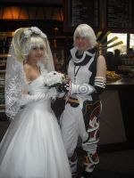 Haseo and Shino Wedding by mei-chama