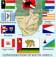 Confederation of South Africa by edthomasten