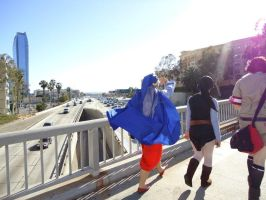 AX 2012: Walkin in LA by InvaderSonicMx