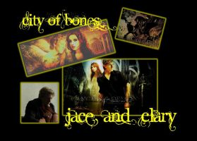 Jace Wayland Clary Fray by EllieJelly666