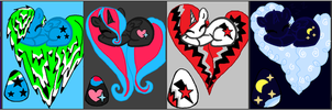 Egg Adoptables .:CLOSED:. by TheGhostHuntress